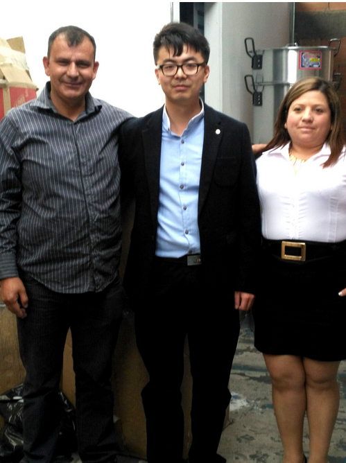 HAOMEI Aluminum circle Sale Manager Visit To Colombia